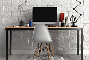 Wood & Steel Desk