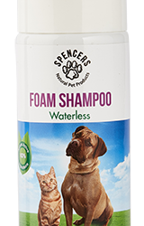 SPENCERS  WATERLESS FOAM SHAMPOO FOR DOGS AND CATS