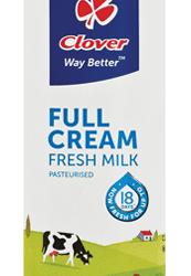 Clover Fresh Full Cream Milk 500ml
