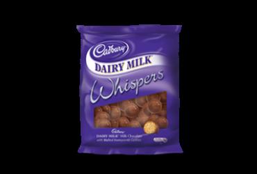 Cadbury Dairy Milk Whispers – 200g