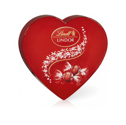 LINDOR Heart Box – 160g