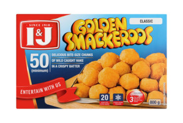 I&J Golden Smackeroos – 800g