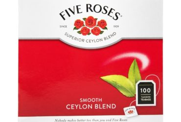 Five Roses® Smooth Ceylon Blend Tagged Tea Bags 100Pk