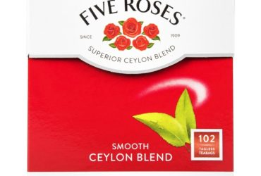 Five Roses® Smooth Ceylon Blend Tagless Tea Bags 102Pk