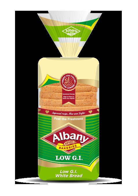 Albany® Superior LOW G.I. White Bread