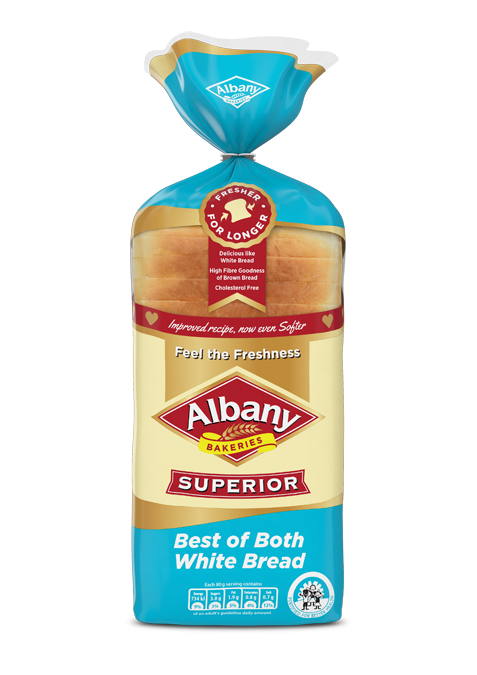 Albany® Superior Best of Both White Bread