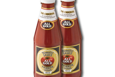 All Gold Tomato Sauce – 700 ml (x2)