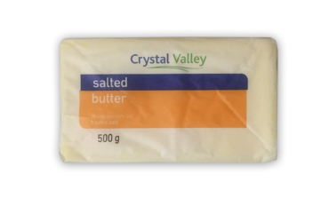 Crystal Valley Salted Butter – 500g