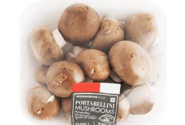 Woolworths Portabellini Mushrooms 250g