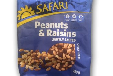 Safari® Peanuts and Raisins – 450g